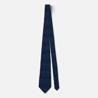Mit Ziegeln gedeckte Retro Vintage Bedruckte Krawatten