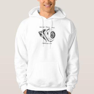 Mitglied:  70mm + Verein (Turbo-Sweatshirt) Hoodie