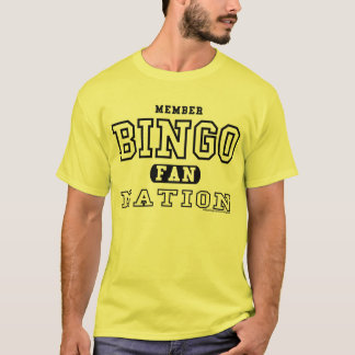 Mitglieds-BINGO-FAN-NATION T-Shirt