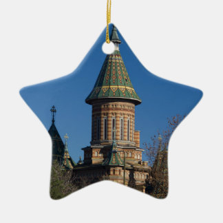 Mitropolitan Kathedrale, Timisoara, Rumänien Keramik Stern-Ornament