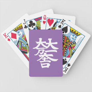 Mitsunari Ishida Bicycle Spielkarten