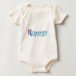 Mitt Romney glauben an Amerika-Kleid Baby Strampler