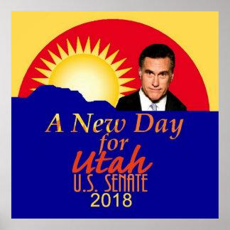 Mitt Romneysenat 2018 Poster