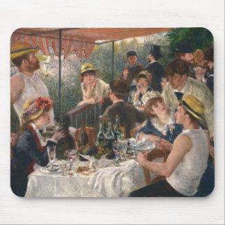Mittagessen des Bootfahrt-Party - Renoir Mousepads