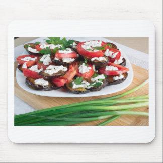 Mittagessen für einen Vegetarier Mousepad