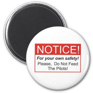 Mitteilung/Pilot Magnets