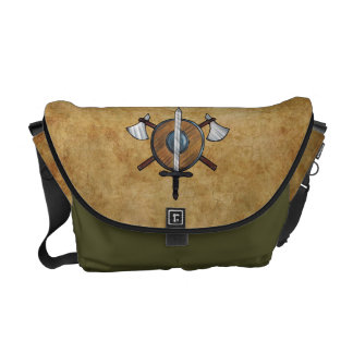 Mittelalterliche Arme Kurier Taschen