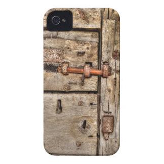 Mittelalterliche Cardiff-Schloss-Tür, Chepstow iPhone 4 Cover