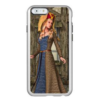 Mittelalterliche Dame Incipio Feather® Shine iPhone 6 Hülle