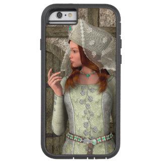 Mittelalterliche Dame Tough Xtreme iPhone 6 Hülle