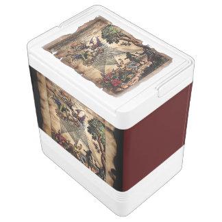 Mittelalterliche Geist-Minnesänger Igloo Kühlbox