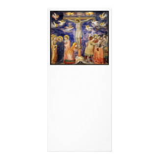 Mittelalterliche Karfreitags-Szene 12,2 X 22,9 Cm Kartendruck