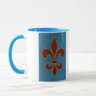 Mittelalterliche Stickerei Tasse