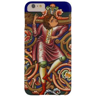 Mittelalterlicher Manuskript-Adlig-elegante antike Barely There iPhone 6 Plus Hülle