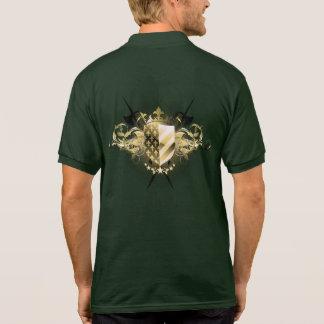 Mittelalterliches Schild-Polo-Shirt Polo Shirt