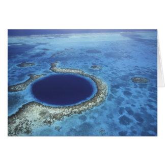 MITTELAMERIKA, Belize, große Korallenriffe weg Karte
