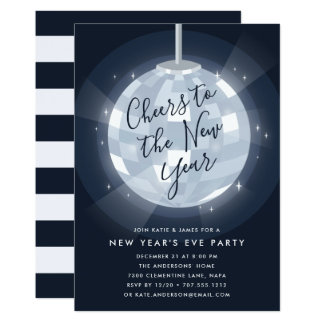 Mitternacht hat | Silvester-Party Einladung in der