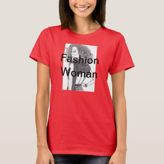 Mode-Frau T-Shirt