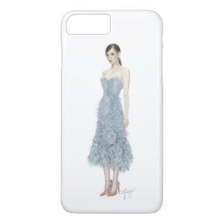 Mode-Illustration von Marchesa Kleid iPhone 7 Plus Hülle