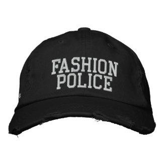 Mode-Polizei Besticktes Baseballcap
