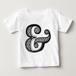 Mode-Schriftart, Symbol u. Baby T-shirt
