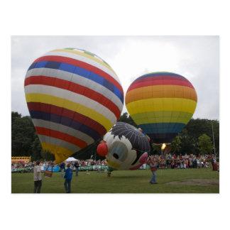 Modelballoons Postkarte