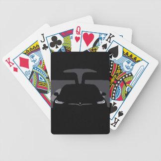 MODELL X - Dunkelheit Bicycle Spielkarten