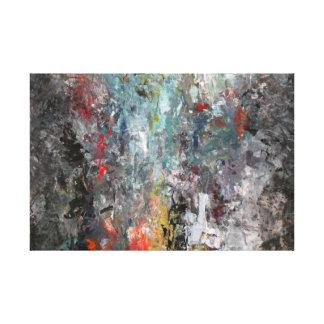 Moderne abstrakte Malerei Galerie Falt Leinwand