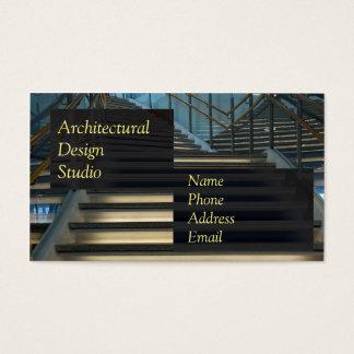 Moderne architektonische Innenarchitektur Visitenkarten