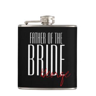 Moderne Art Vater der Braut personalisiert