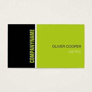 Moderne berufliche Geschäftskartenschablone Visitenkarten
