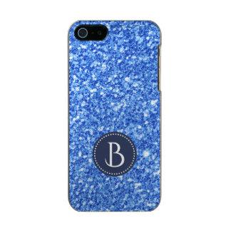 Moderne elegante blaue incipio feather® shine iPhone 5 hülle