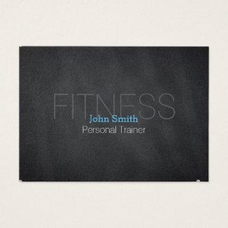 Moderne elegante persönliche Fitness-Trainer-Tafel Jumbo-Visitenkarten