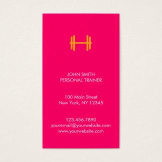Moderne Fitness/persönliche Visitenkarten