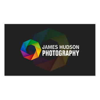 Moderne Fotograf-Visitenkarten