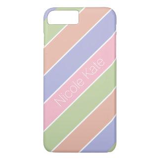 moderne gestreifte feine Farbe iPhone 8 Plus/7 Plus Hülle
