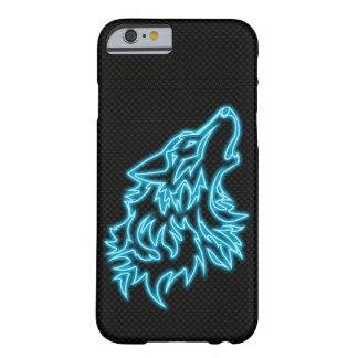 Moderne Kohlenstofffaser BG Neonwolf Iphone Falles Barely There iPhone 6 Hülle