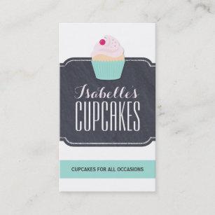 Moderne kundengerechte Kuchen-Visitenkarte Visitenkarte