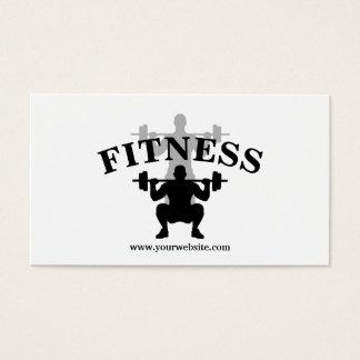 Moderne schwarze u. weiße persönliche visitenkarten
