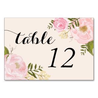 Moderne Vintage rosa Blumenhochzeit