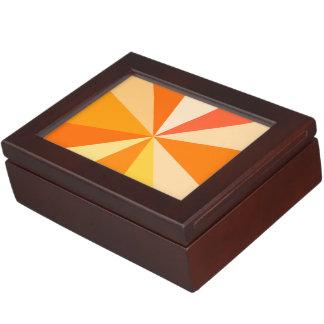 Moderner 60er der Pop-Kunst Funky geometrische Erinnerungsbox