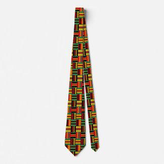Moderner abstrakter afrikanischer krawatte