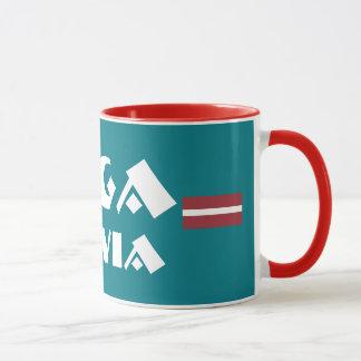 Moderner Entwurfs-Tasse Rigas Lettland Tasse