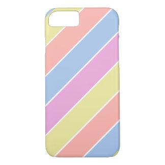 moderner feiner Farbpastell iPhone 8/7 Hülle