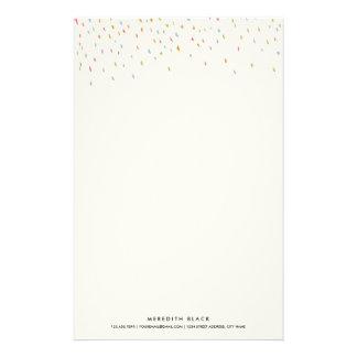 Moderner Punkt-personalisierter Briefpapier