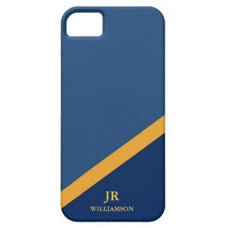 Moderner Typ-Marine-Blau iPhone4 Fall-Mate™ Hülle Fürs iPhone 5