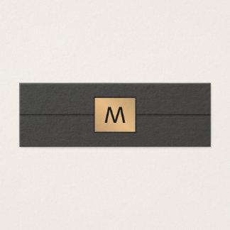 Modernes elegantes mini visitenkarte