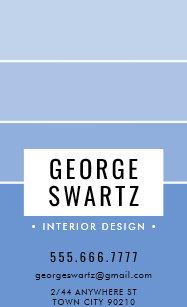 Maler Und Dekorateur Visitenkarten Zazzle At