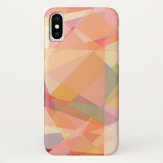 Modernes geometrisches Muster der iPhone X Hülle