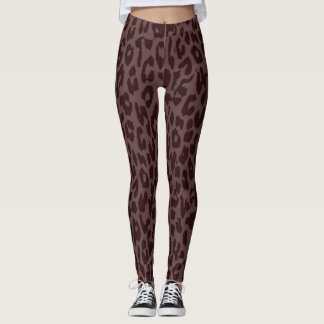 Modernes Leopard-Haut-Muster #40 Leggings